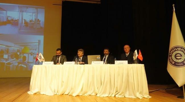 """EÜ'de """"Üniversitede ve İş Yaşamında X, Y ve Z Kuşakları"""" paneli gerçekleştirildi"""