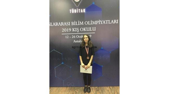 İzmir Bilfen Fen Lisesi Öğrencisinden Büyük Başarı