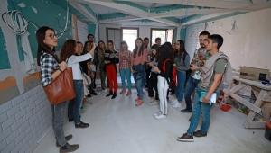 Öğrencilerinden kent tarihine dokunan tasarımlar