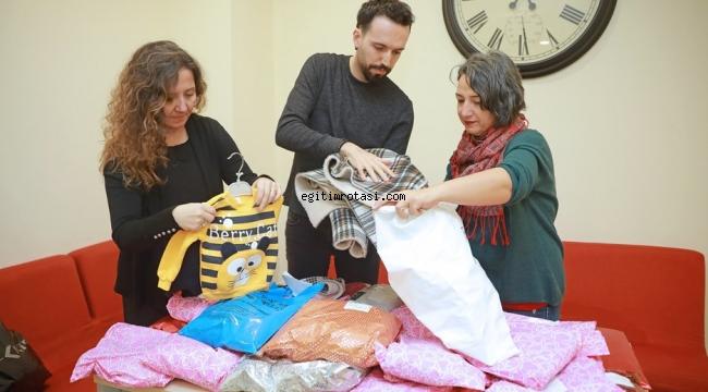 Yaşar Üniversitesi'nde öğrencilerin dersi 'iyilik'