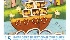 Çocuklar Denizde Yolculuğu Çizecek