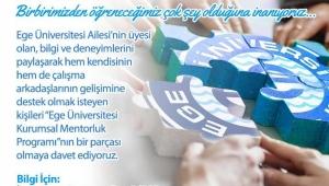 """""""Ege Üniversitesi Ustalarını Arıyor"""""""