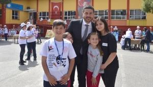 Necla Midilli Merkez Ortaokulu'nda Bilim Şenliği