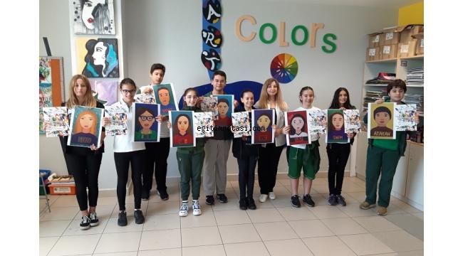 Dünya Çocukları Resim Festivalinden Öğrencilere Uluslararası Sertifika