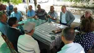 """""""Ege Üniversitesi Köyümüzde"""" projesinde ilk ziyaret yapıldı"""