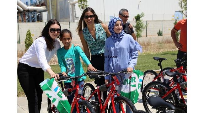 Pınar Protein, Şanlıurfa'da Çocukları Bisikletleriyle Buluşturdu