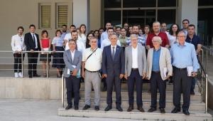 """EÜ'de """"EGE-LABSİS ve AVESİS"""" Sanayicilere Tanıtıldı"""