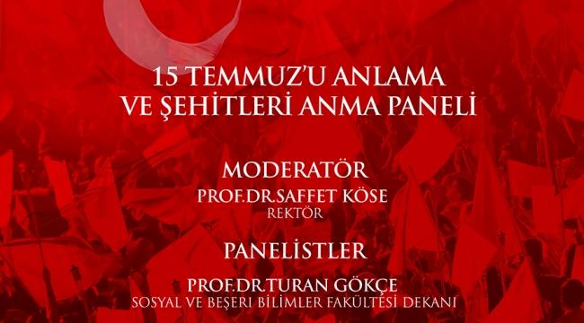 İKÇÜ'de '15 Temmuz Demokrasi ve Milli Birlik Günü' Etkinlikleri