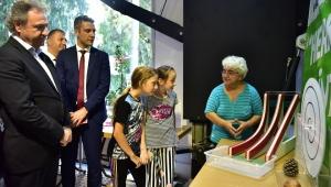 Başkan İduğ, Çambidi'nde çocuklarla buluştu