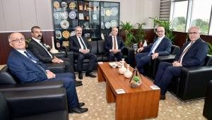 Başkan Kayda'dan Rektör Ataç'a Hayırlı Olsun Ziyareti
