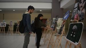 """Egeli öğrencilerden """"Pop Sanat Kolaj Sergisi"""""""