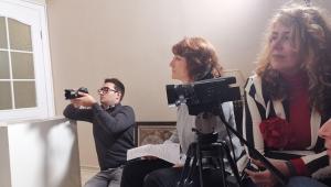 EÜ'de Sinema Yüksek Lisans Öğrencilerinin ilk belgesel heyecanı