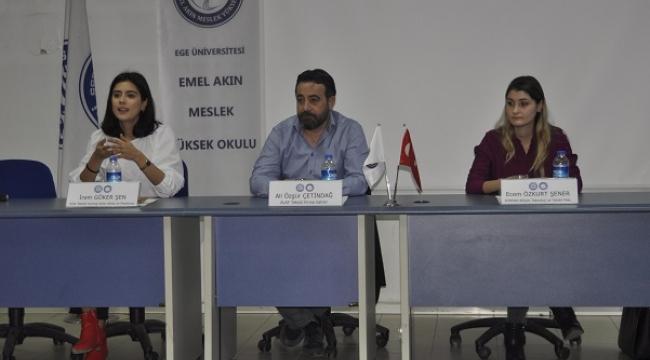 "Emel Akın Meslek Yüksekokulu'nda ""Kariyer Yolculuğu"" Semineri"