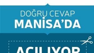 Doğru Cevap Eğitim Kurumları Şubat'ta Manisa'da