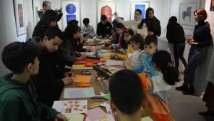 EÜ Kâğıt ve Kitap Sanatları Müzesi minik ziyaretçilerini ağırladı
