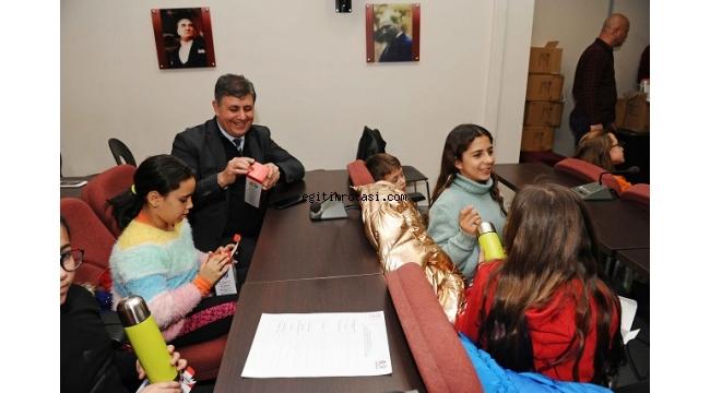 Karşıyaka Çocuk Belediyesi'nden 'plastiğe hayır' mesajı