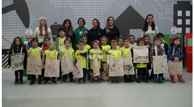 Karşıyaka Çocuk Müzesi'nde çevre dostu etkinlik