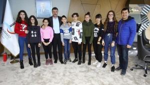 Ortaokul öğrencilerinden çevreci proje