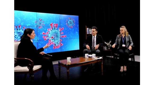Ege Üniversitesinde koronavirüs için etkin önlemler
