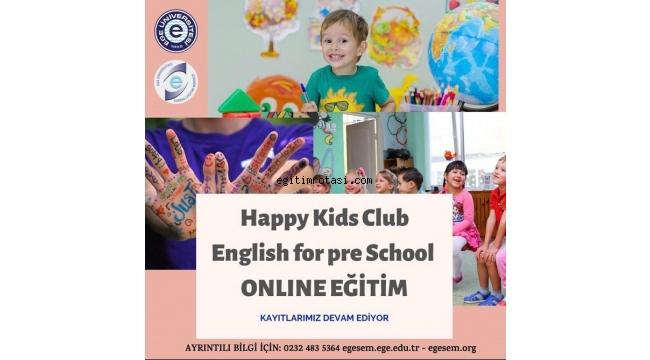 EGESEM'den dolu dolu online eğitim programı