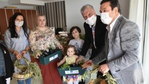 Narlıdere'de 'Benim Bahçem' için tohumlar ekildi!