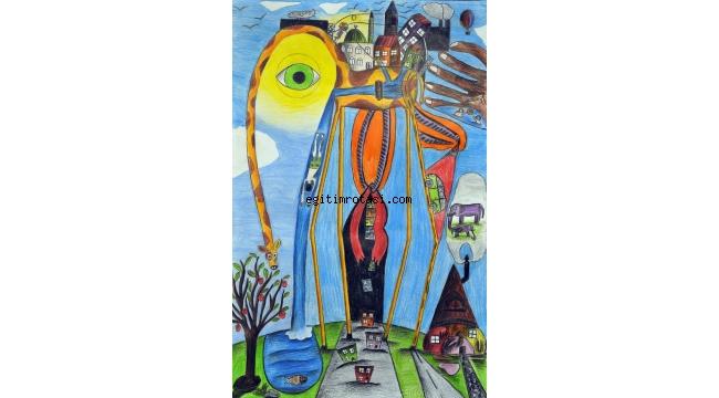 Pınar Çocuk Resim Yarışması'na 5.461 minik ressam katıldı