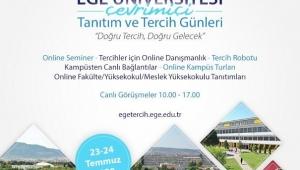 """Ege'den yeni normal şartlarda """"online"""" tanıtım etkinliği"""