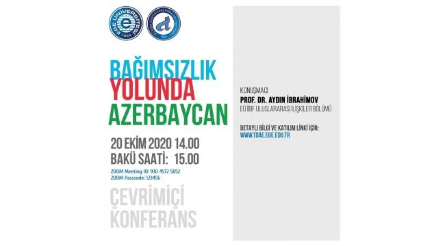 """""""Bağımsızlık Yolunda Azerbaycan"""" Konferansı düzenlenecek"""