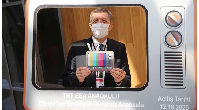 Milli Eğitim Bakanı Selçuk: EBA TV Anaokulu açıldı