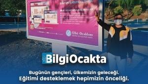 Türk gençliği; Bilgi Ocakta!