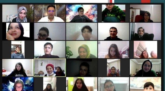 Özel Bilge Koleji Güzide Bakım Merkezini online konuk etti