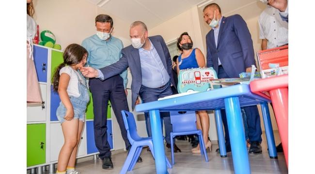 Menemen Belediyesi'nin ilk anaokulu