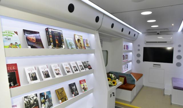 İkinci gezici kütüphane hizmete açıldı
