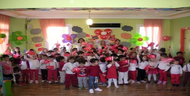 Neşe Erberk Bornova Anaokulu'nda 29 Ekim Coşkusu