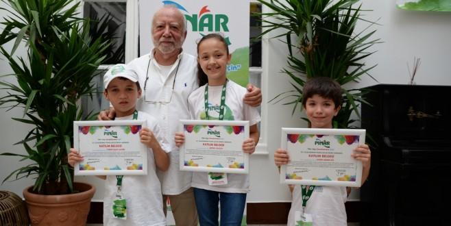 Pınar Çocuk Resim Yarışması'nda  27 yetenekli çocuğa ödül