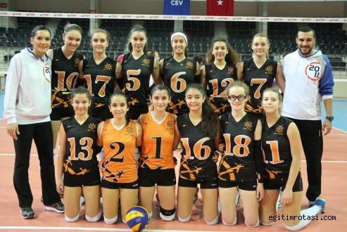 Rota Koleji Voleybolda İzmir'i Temsil Edecek…