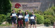 Çamlaraltı Koleji öğrencileri, tatilde de eğitimde