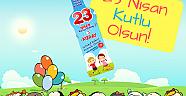 Kızılay'dan çocuklara 23 Nisan hediyesi