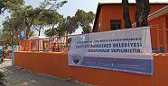 Menderes'te okullar yenileniyor
