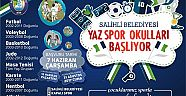 Salihli Belediyesi Yaz Spor Okulları Kayıtları Başlıyor