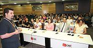 Stajlarını belediyede yapan öğrencilere eğitim verildi